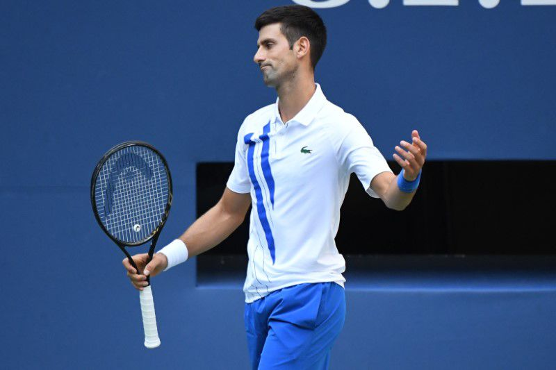 Novak Djokovic vive un 2020 convulsionado (Danielle Parhizkaran-USA TODAY Sports)