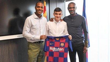 Pedri es una de las promesas del FC Barcelona