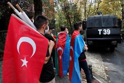 Canadá investiga la colaboración militar de Turquía con Azerbaiyán (REUTERS/Murad Sezer)