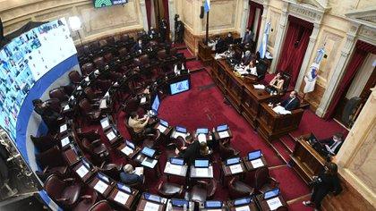 Se espera que el Senado apruebe la semana que viene los cambios (Prensa Senado)