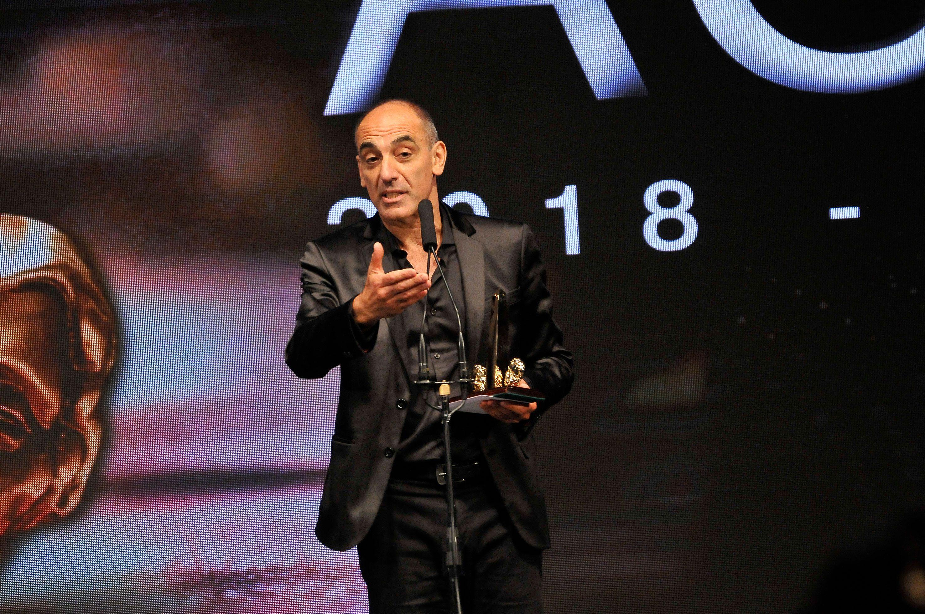 Mauricio Dayub, ganador en la última edición del ACE de Oro (Crédito: Darío Batallan / Teleshow)