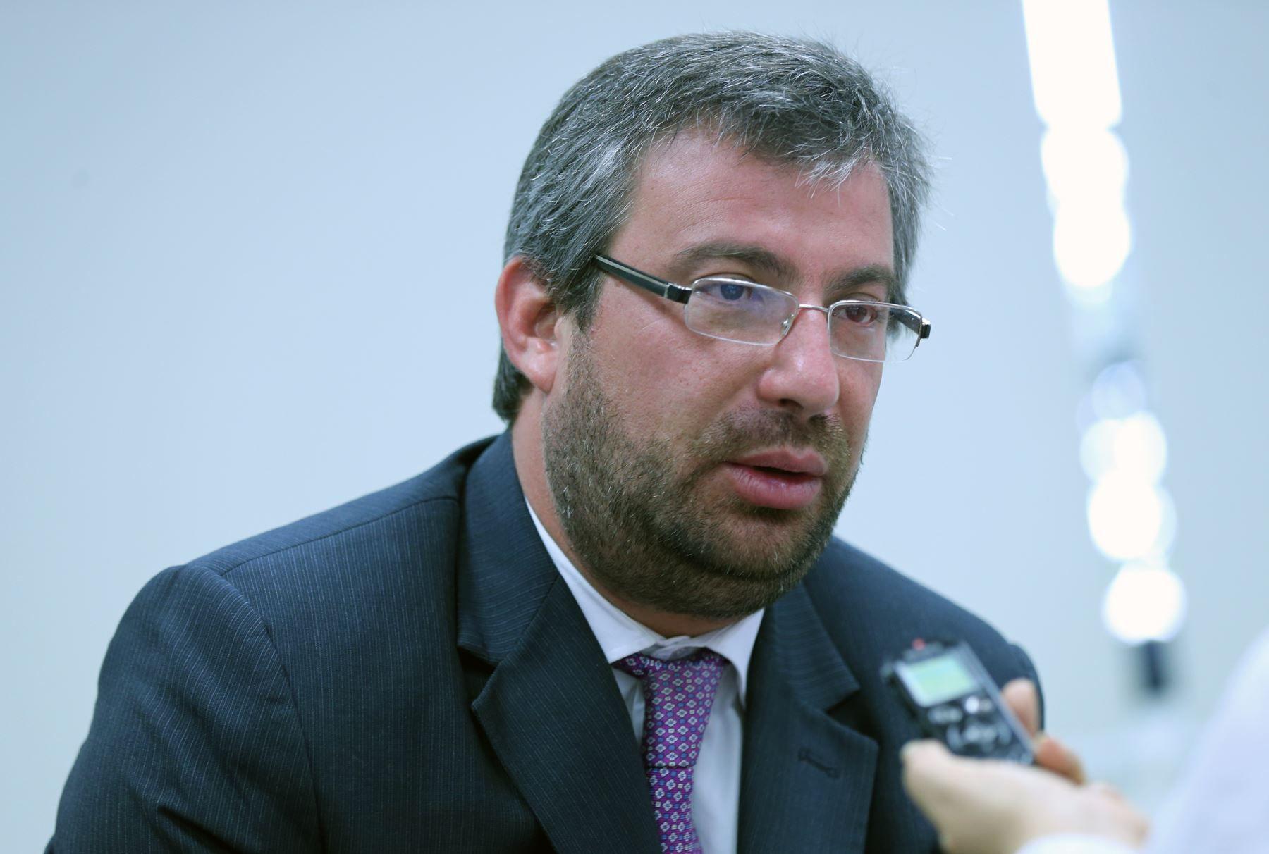 Piero Corvetto recuerda los momentos que pasó durante la segunda vuelta electoral. (Foto: Andina)