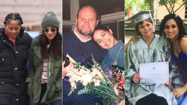Familia de Meghan Markle