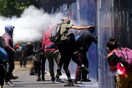 Por segundo día consecutivo, protestas por el crimen de Giovanni López se llevaron a cabo en México (Foto: Edgard Garrido/ Reuters)