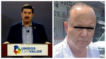 El gobernador Javier Corral exhibió la corrupción de su antecesor César Duarte (Foto: Especial)