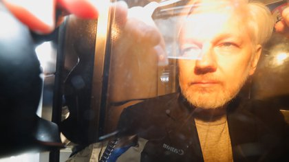 Julian Assange (Photo by Tolga AKMEN / AFP)