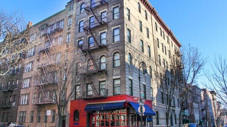 El recordado edificio donde en la serie de TV vivían los protagonistas de la serie Friends