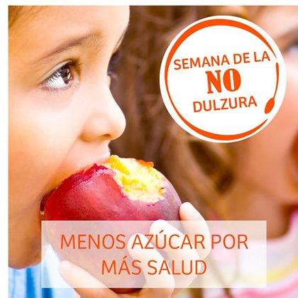 La Semana de la no Dulzura pretende generar conciencia sobre la importancia de moderar el consumo de azúcar de la población
