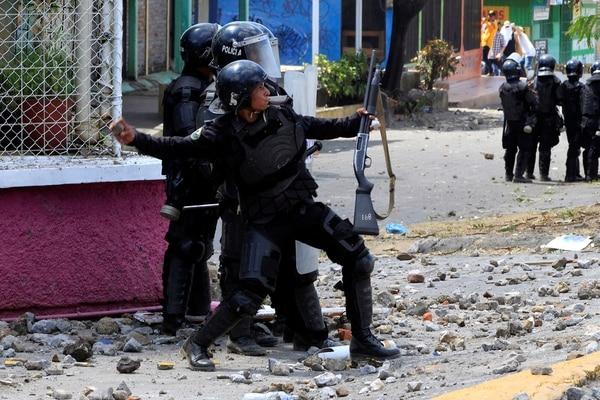 La población fue reprimida por las fuerzas de seguridad de Ortega (Reuters)