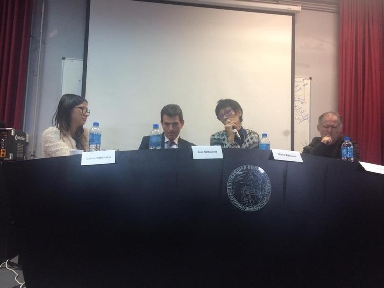 Carina Solmirano, Juan Battaleme, Marta Vigevano y Esteban Ierardo