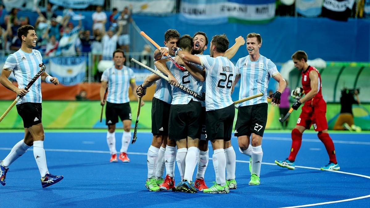 Los Leones son de oro  le ganaron a Bélgica y le dieron la tercera medalla  dorada a la Argentina - Infobae 1f6b1b8179e64