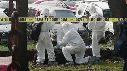 La maleta deportiva en la que apareció el cuerpo de la joven estaba abandonada en Tlatelolco. (Foto: Especial)