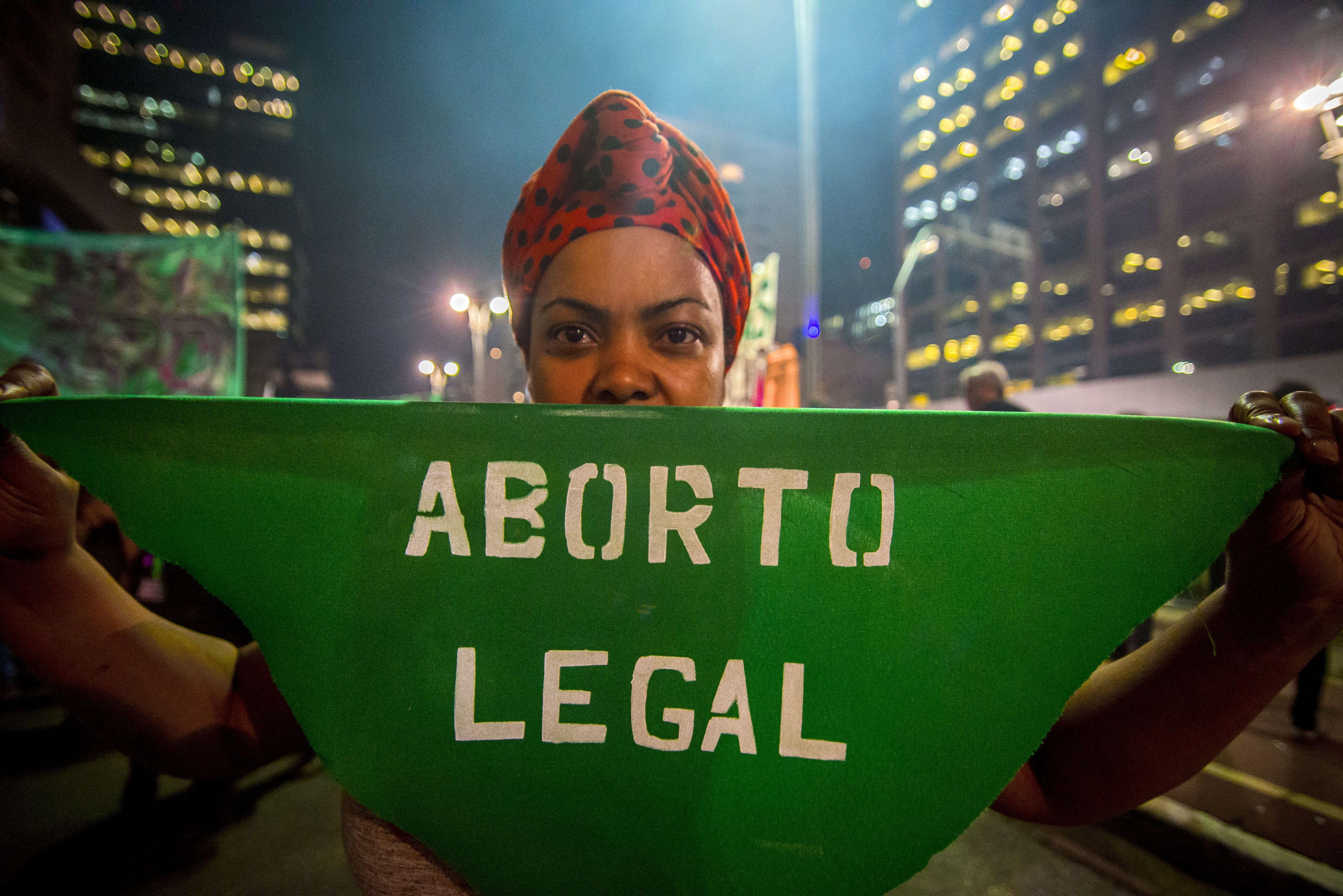 22/09/2020 Manifestación a favor del aborto en las calles de Sao Paulo en 2018. POLITICA SUDAMÉRICA BRASIL LATINOAMÉRICA INTERNACIONAL CRIS FAGA / ZUMA PRESS / CONTACTOPHOTO