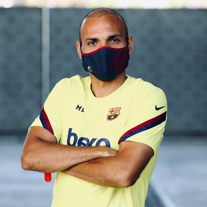 El Barcelona volverá a competir este sábado (IG: @braithwaite_no1)