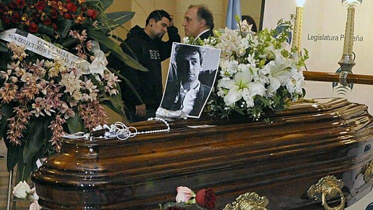 Gustavo Cerati fue velado en la Legislatura de la ciudad de Buenos Aires (Crédito: Legislatura)