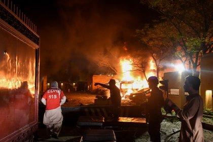 Explosión en un hotel de Pakistán