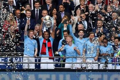 Los Ciudadanos consiguieron la triple corona esta temporada (Foto: REUTERS)