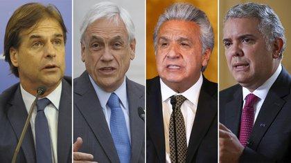 Los presidentes de Uruguay, Chile, Colombia y Ecuador condenaron al régimen de Maduro durante la Cumbre Iberoamericana