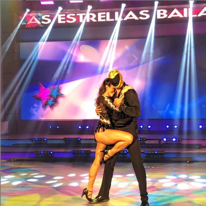 Macky y Tinieblas Jr. obtuvieron muy bajo puntaje por su coreografía. (Foto: @programa_hoy/ Instagram)