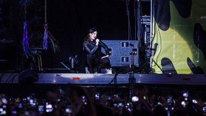 Lana del Rey en el Lollapalooza