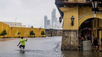24 departamentos del país quedaron afectados por las temporadas de lluvia Foto: EFE. Rafael Bossio