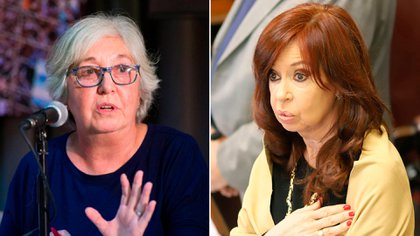 Garrigós de Rébori es ferviente admiradora de Cristina Kirchner