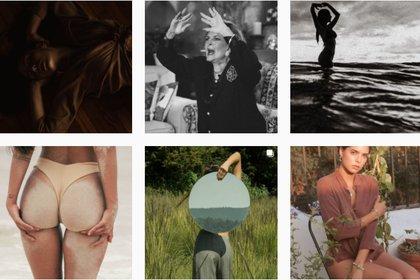 La joven es fotógrafa y constantemente muestra una relación del cuerpo con los espacios (Foto: Instagram@marialevyy)