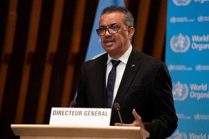 Tedros Adhanom Ghebreyesus, director general de la OMS (Christopher Black/Reuters)