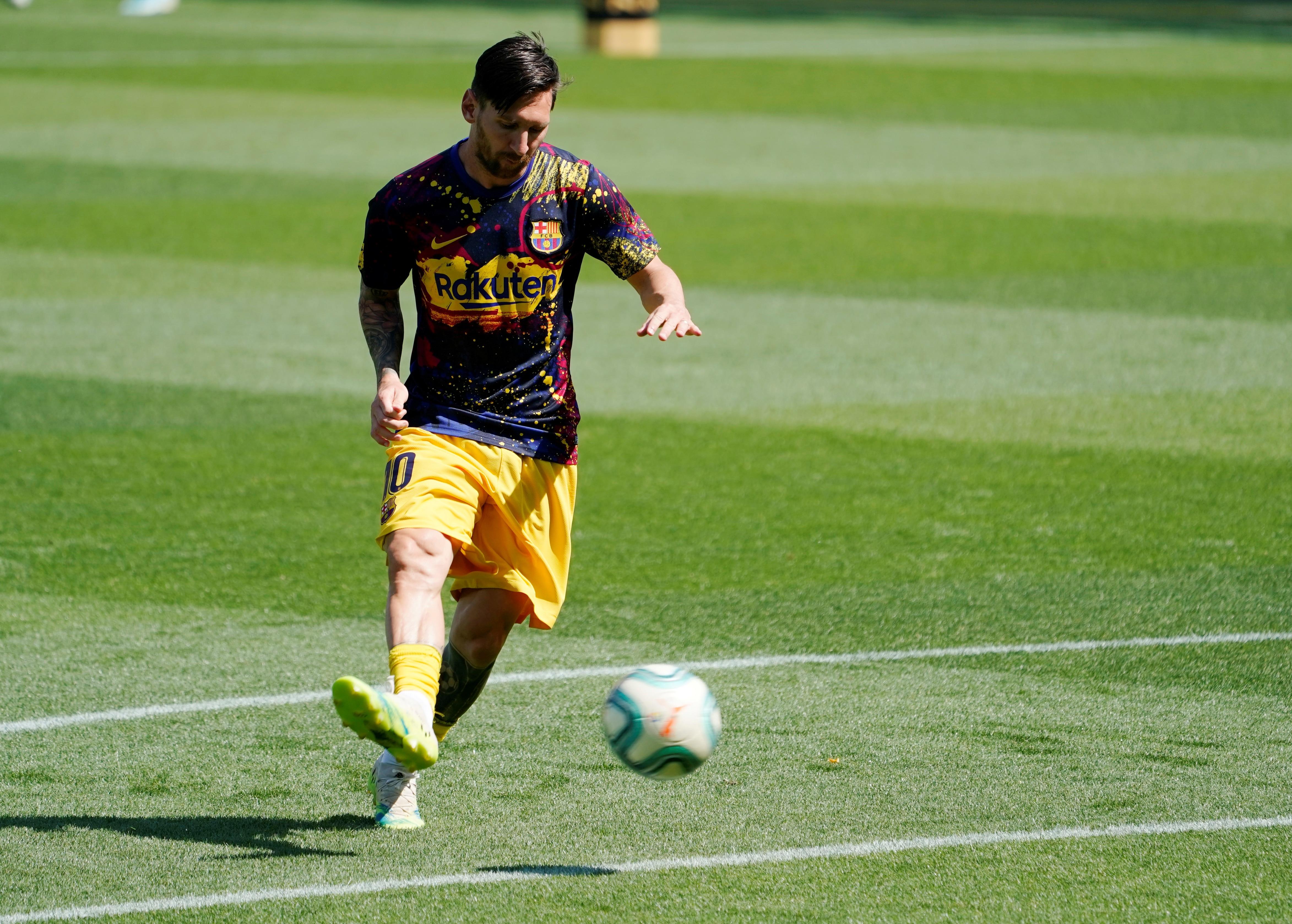 """Lionel Messi contó qué sucedió en el vestuario del Barcelona tras perder el título ante el Real Madrid: """"Ya no hay que hablar más"""" - Infobae"""