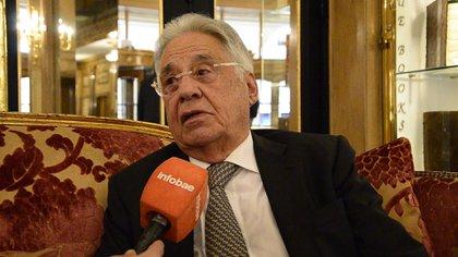 Fernando Henrique Cardoso, uno de los ex presidentes que pidieron más asistencia del FMI a los países de la región