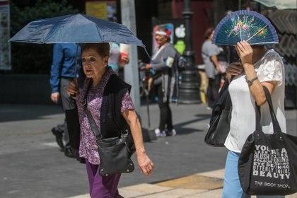 En mayo, la Ciudad de México alcanzó temperaturas de hasta 29 grados, algo poco usual en la capital mexicana (Foto: Cuartoscuro)