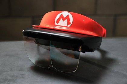Las gafas de realidad aumentadas que se usarán en la montaña rusa de Mario Kart (Foto: Nintendo)