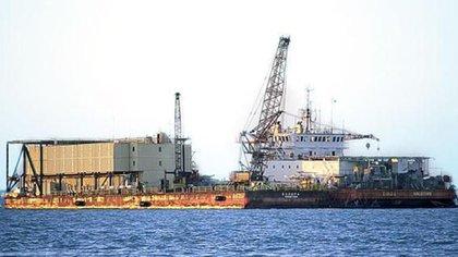 """Las plataformas de Pemex son """"ciudades"""" en las que habitan los trabajadores petroleros"""