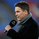 Soccer Football - Premier League - Crystal Palace v AFC Bournemouth - Selhurst Park, London, Britain - December 3, 2019 TV pundit Michael Owen pitchside before the match REUTERS/David Klein EDITORIAL USE ONLY. No use with unauthorized audio, video, data, fixture lists, club/league logos or
