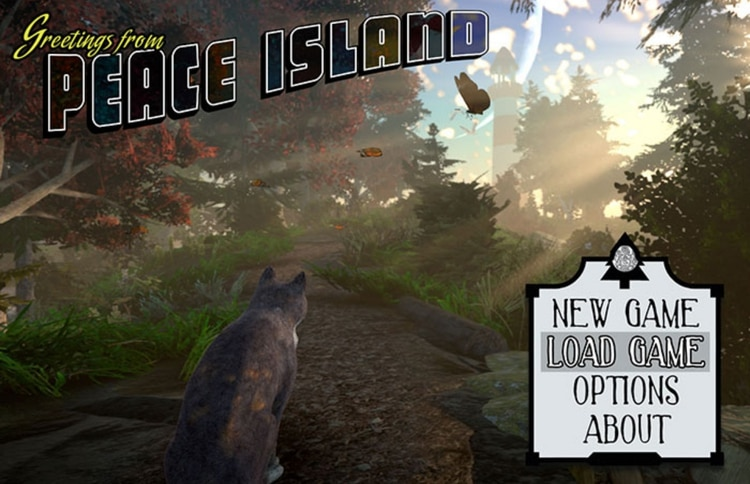 Peace Island promete cautivar a sus usuarios (Foto: Captura de pantalla de Twitter)
