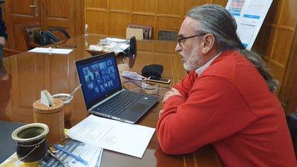 La Mesa de Enlace le reclamó al gobierno acciones concretas para evitar la toma de tierras (Foto: Ministerio de Agricultura)