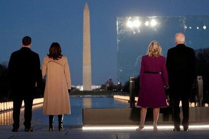 El acto se desarrolló frente al monumento a Washington (REUTERS/Tom Brenner)