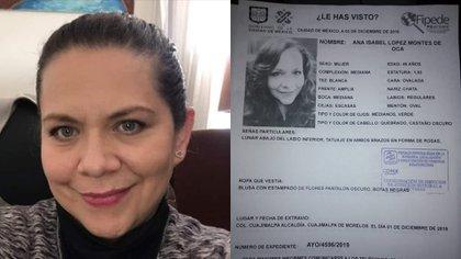 Ana Isabel fue asesinada entre el 1 y 4 de diciembre (Foto: Facebook)