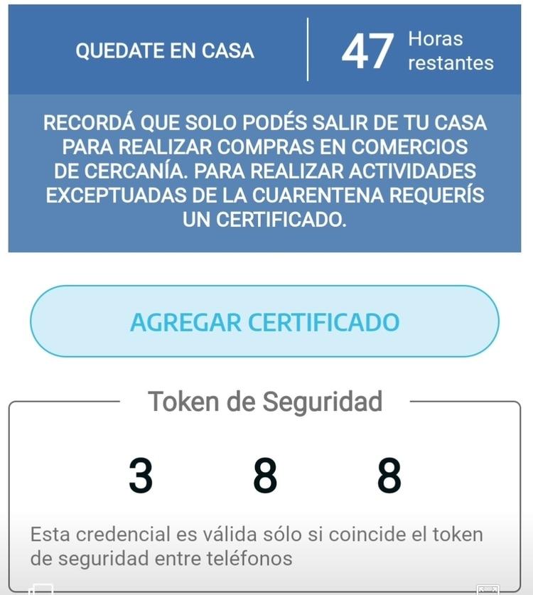 En caso de que se cuente con el permiso de circulación, se podrá añadir a la app para tener la versión digitalizada.