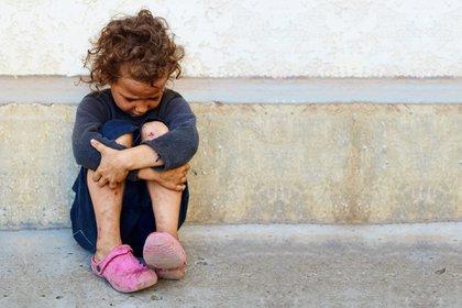 """La propia OMS reconoció que como consecuencia de la cuarentena """"es muy posible que la desnutrición infantil se duplique el próximo año"""" (Shutterstock)"""