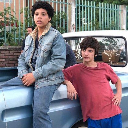 En la ficción, Balthazar Murillo interpretó a Carlos Tevez y Matías, a su amigo
