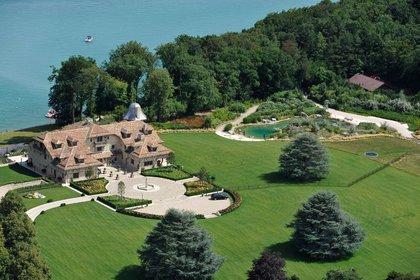La mansión de Schumacher en Suiza