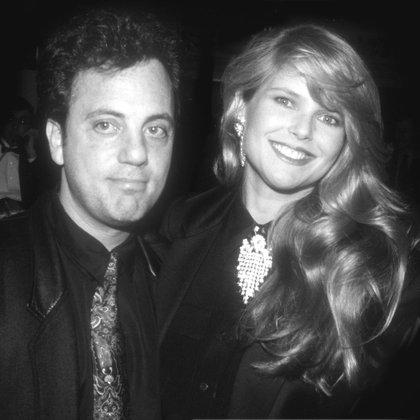 Billy Joel y Christie Brinkley en 1986 (Shutterstock)