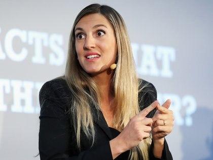 Alexandra Gómez Bruinewoud es asesora jurídica senior de FIFPro  (Photo by Lynne Cameron/Getty Images for Soccerex)