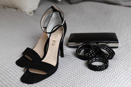 Zapatos negros de taco alto de Antoinette, una de las opciones de la periodista para esta noche