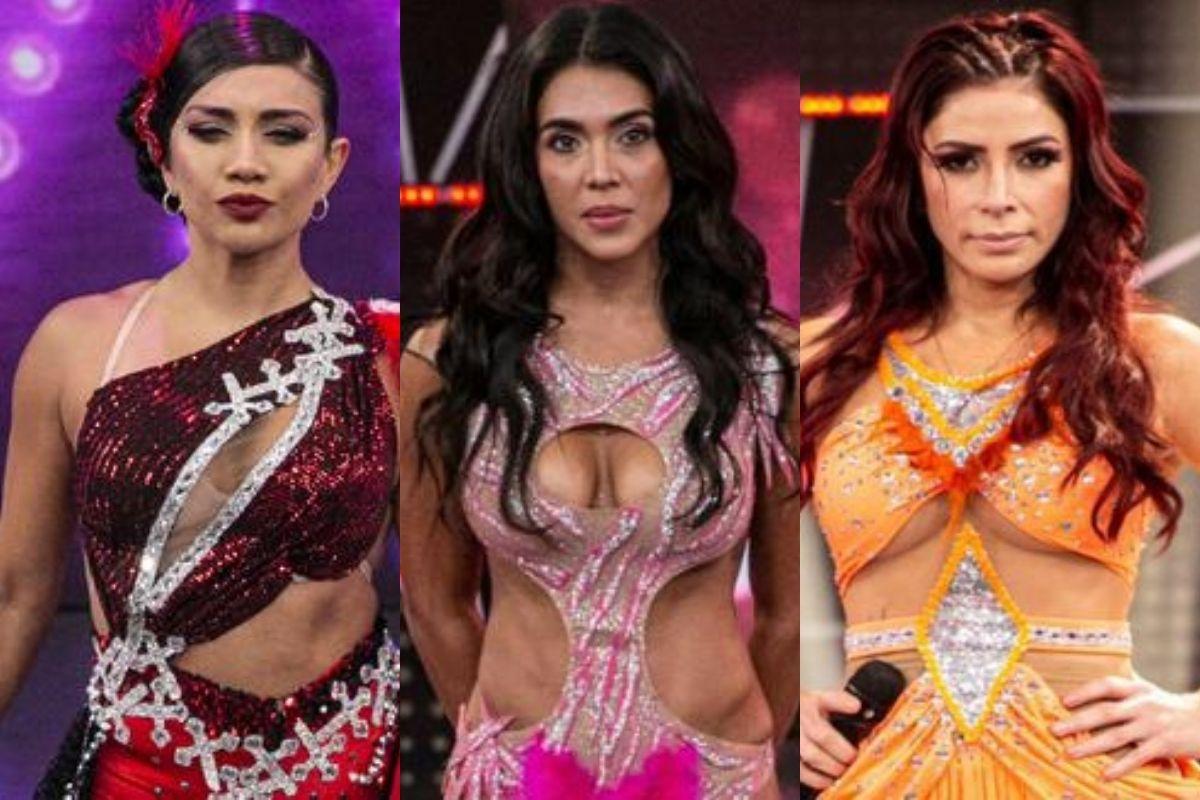 Las participantes se enfrentarán en la próxima edición del reality de baile. (Fotos: América TV)