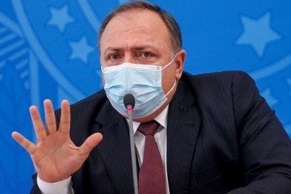 El ministro de Salud de Brasil, Eduardo Pazuello. REUTERS/Adriano Machado
