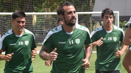 Osvaldo se sumó al grupo el pasado 3 de enero, en el primer día de pretemporada
