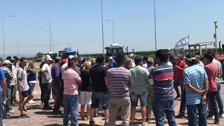 Las asambleas de productores agropecuarios se repiten en distintos puntos del país