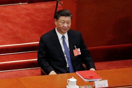 El presidente chino, Xi Jinping, asiste a la sesión de clausura del Congreso Nacional del Pueblo (APN) en el Gran Salón del Pueblo en Beijing (Reuters)